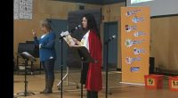 During Monday's assembly we had a very special guest. Kim Block, our secretary at BCSD/Outreach, read us her recently published book,ADVENTURES OF A STUTTERING SUPERHERO: ADVENTURE #1 INTERRUPT-ITIS. Jennifer Zuvic, […]