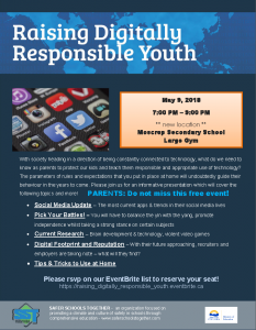 Raising Digitally Responsible Youth @ Moscrop @ Moscrop Secondary