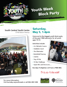 Youth Week Block Party